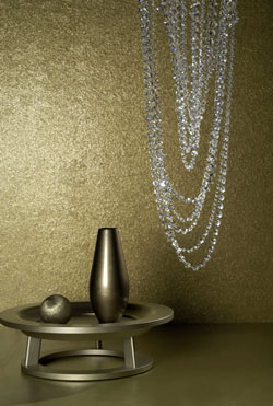 Luxus Tapete 27 luxury wallcoverings Gold Metall Glanz im Online Shop